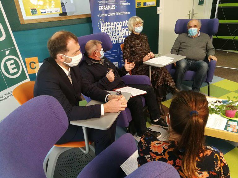 Séminaire ERASMUS Illettrisme 02 décembre 2020 - BEAUVAIS - 050